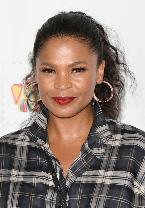 """Nia Long – """"A Time For Heroes"""" Family Festival LA 10/29/2017"""