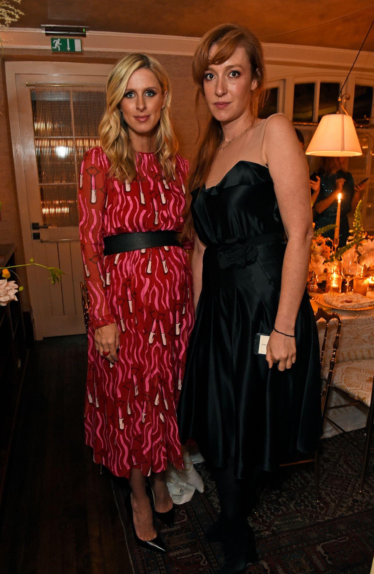 Nicky Hilton Rothschild & Whitney Wolfe Herd - Bumble Bizz Launch Celebration Dinner 10/25/2017