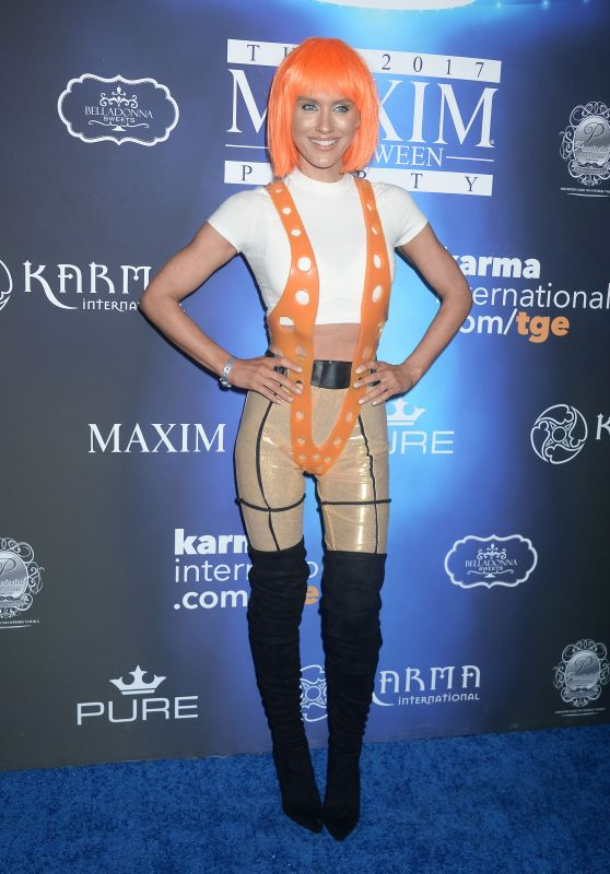 Nicky Whelan – Maxim Halloween Party 2017 in Los Angeles