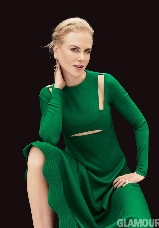 Nicole Kidman - Glamour Magazine US, December 2017