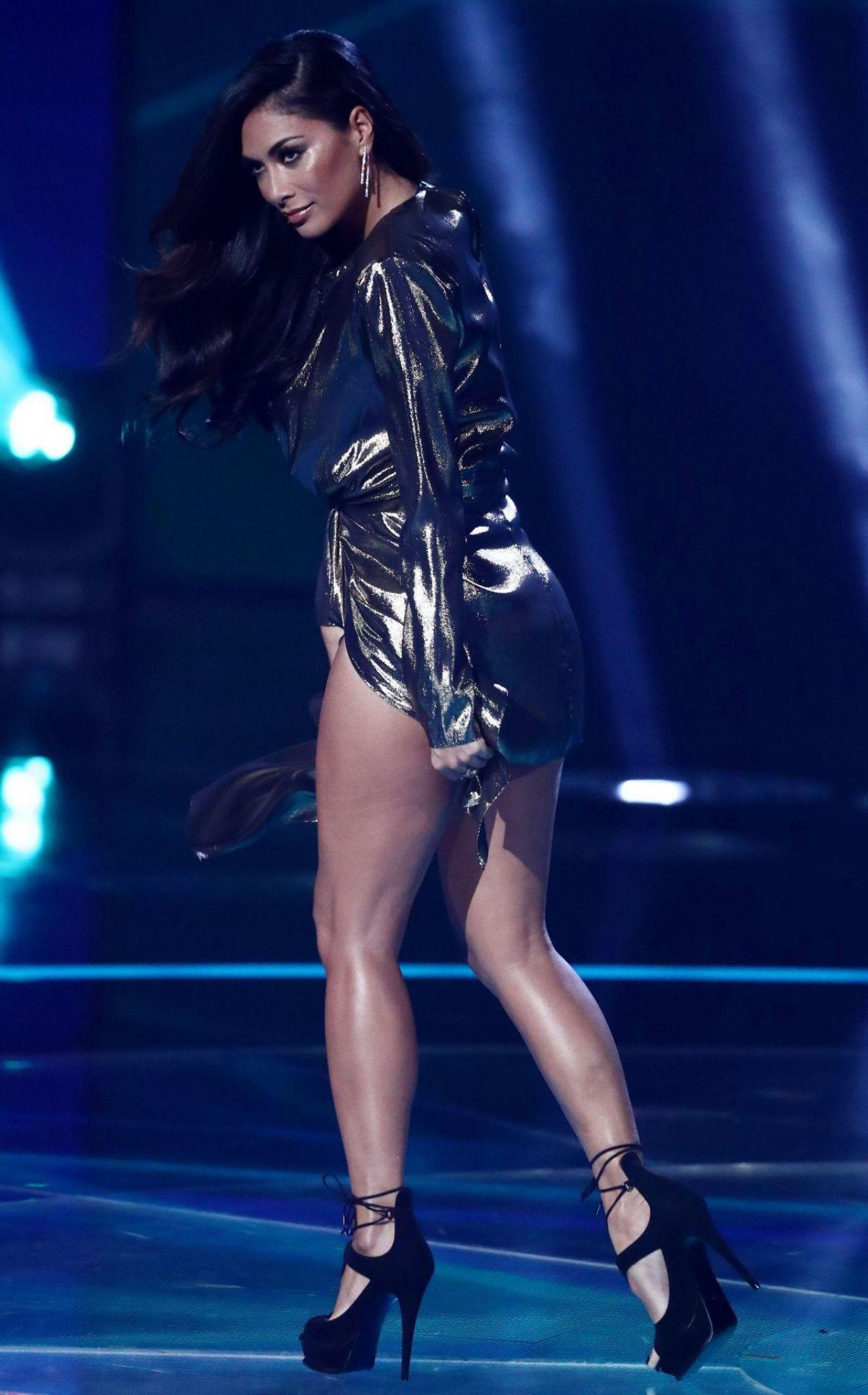 Nicole Scherzinger - X Factor First Live Show 10/28/2017