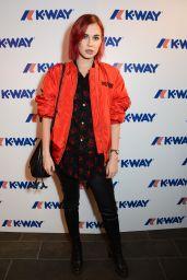 Nikita Andrianova – K-Way London Flagship Store Opening 10/05/2017