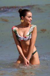 Olivia Culpo, Devon Windsor and Daniela Braga Bikini Candids - Miami 10/20/2017