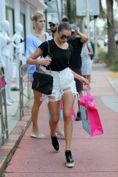 Olivia Culpo - Shopping at the Beach Bunny Store in Miami Beach 10/20/2017