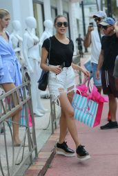 Olivia Culpo - Shopping at the Beach Bunny Store in Miami Beach 10/20/2017
