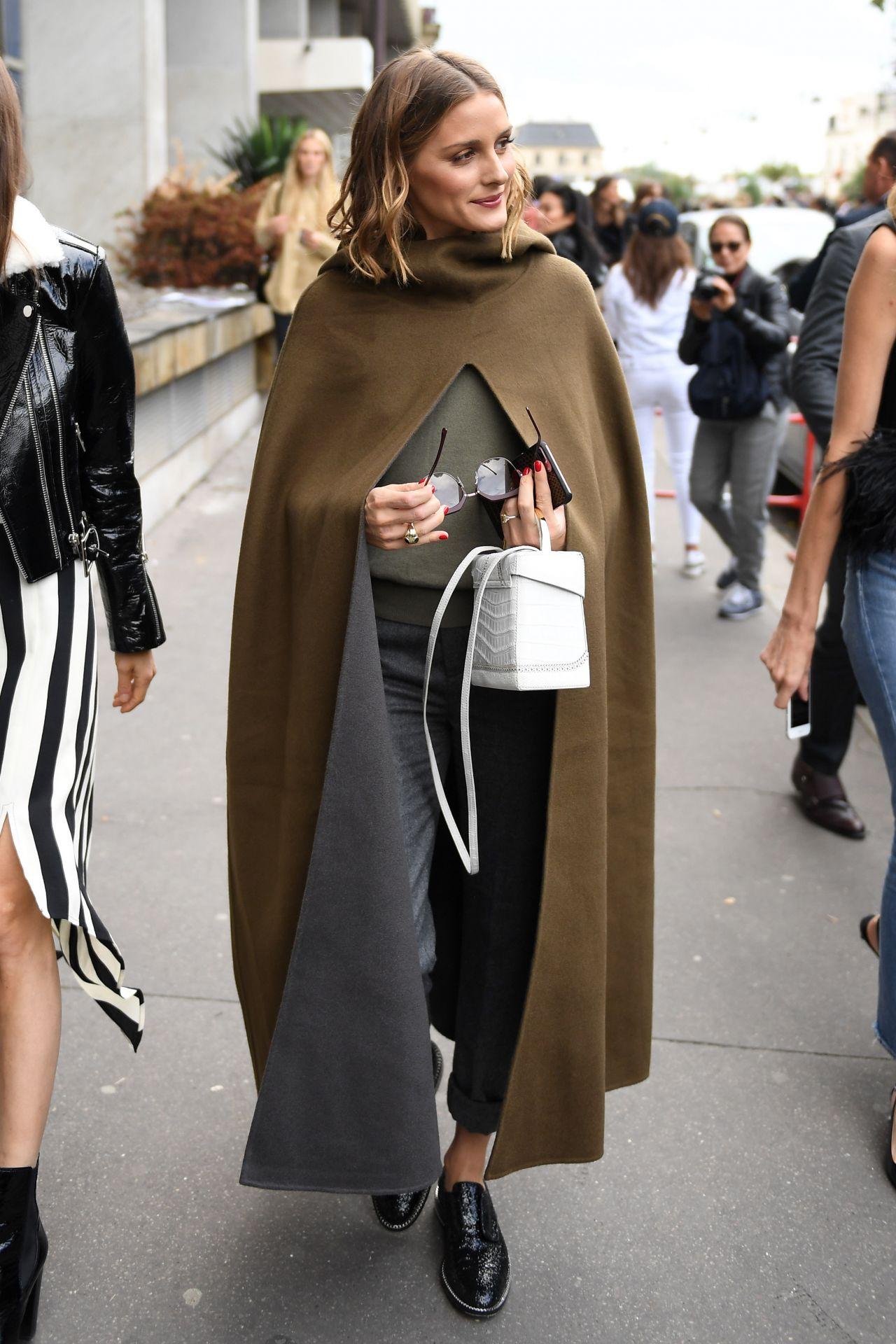 Olivia Palermo Style Leaving Giambattista Valli Fashion Show In Paris 10 02 2017