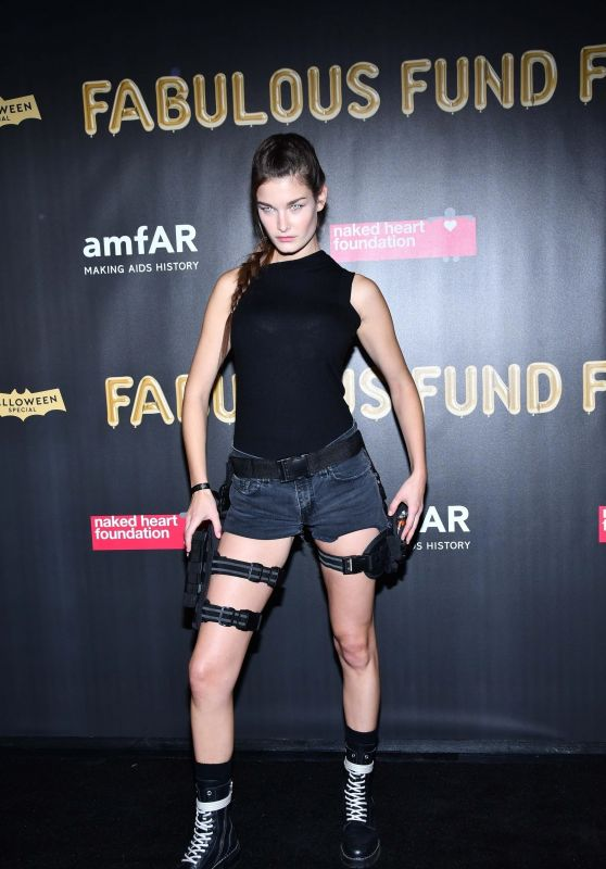 Ophelie Guillermand – 2017 amfAR Fabulous Fund Fair in NYC