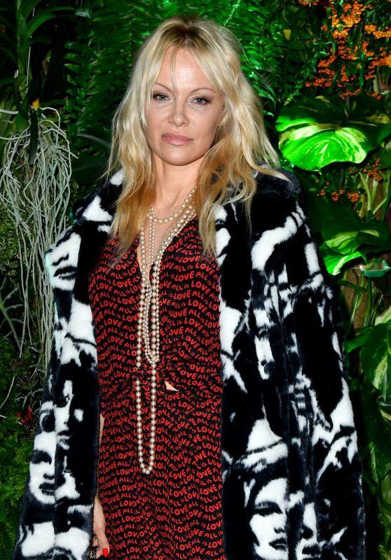 Pamela Anderson - Fashion Tech Lab Cocktail Party in Paris 10/02/2017