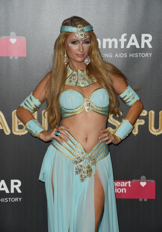 Paris Hilton – 2017 amfAR Fabulous Fund Fair in NYC
