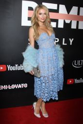 "Paris Hilton – ""DEMI LOVATO: Simply Complicated"" Premiere in Los Angeles"