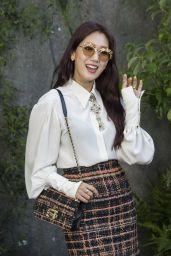 Park Shin-hye – Chanel Fashion Show, PFW in Paris 10/03/2017