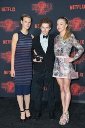 "Peyton Kennedy, Quinn Lieblinga and Sydney Sweeney – ""Stranger Things"" Season 2 Premiere in LA"