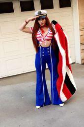 Phoebe Price in Halloween Costumes - Los Angeles 10/15/2017