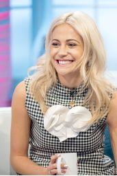 Pixie Lott – Lorraine TV Show in London 10/23/2017