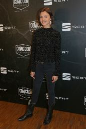 Poppy Drayton – Comic Con Festival 2017 in Paris