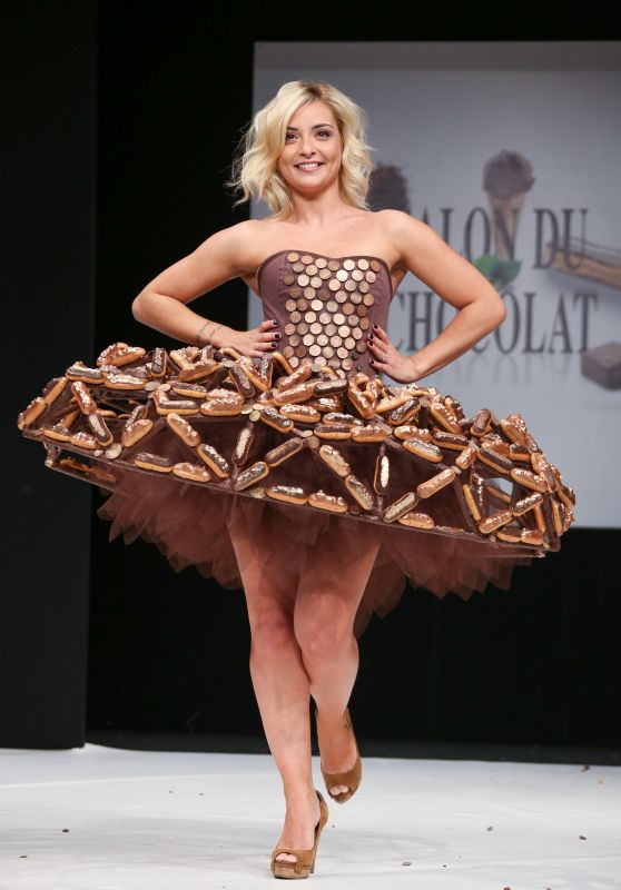 """Priscilla Betti - """"Salon Du Chocolat Paris 2017"""" Chocolate Fair in Paris"""