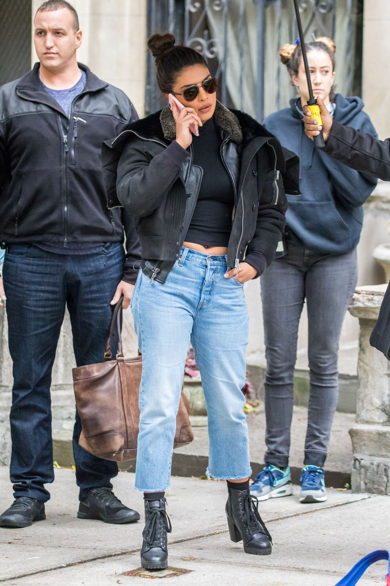 Priyanka Chopra - On the Sets of Quantico Season 3 in NYC 10/27/2017