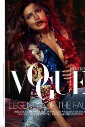 Priyanka Chopra - Vogue India, September 2017 Issue and Photos