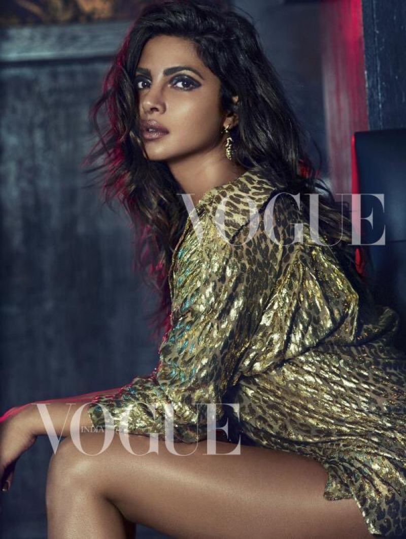 Priyanka Chopra - Vogue India, September 2017 Issue And Photos-8632
