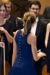 Queen Letizia of Spain - XXVI Musical Week Closing Concert in Oviedo