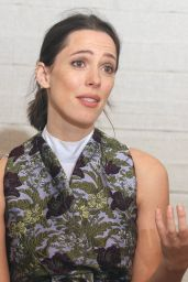 """Rebecca Hall – """"Professor Marston and the Wonder Women"""" Press Conference in West Hollywood 10/12/2017"""