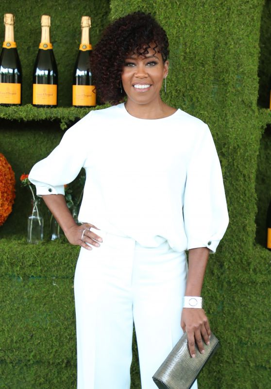 Regina King – Veuve Cliquot Polo Classic 2017 in Los Angeles