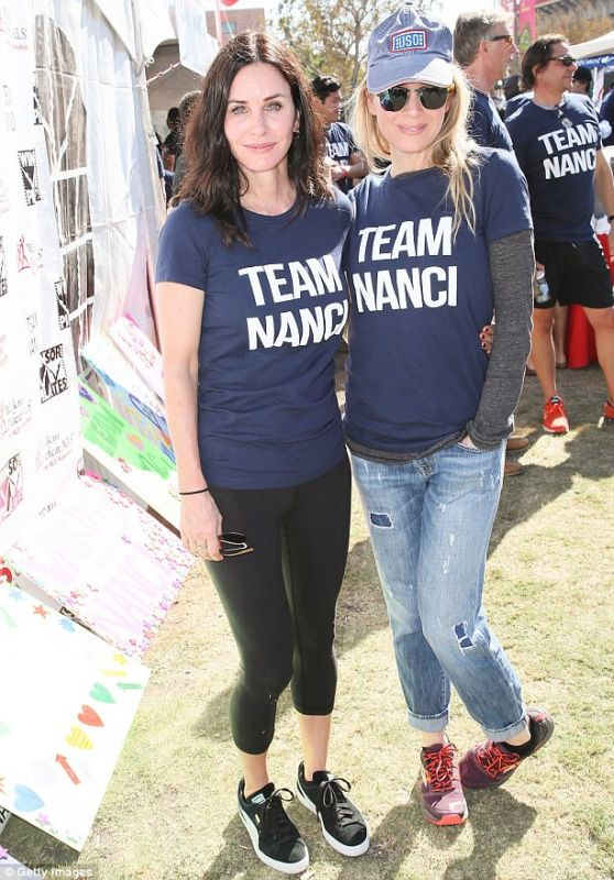 Renee Zellweger and Courteney Cox - Annual LA County Walk to Defeat ALS 10/15/2017