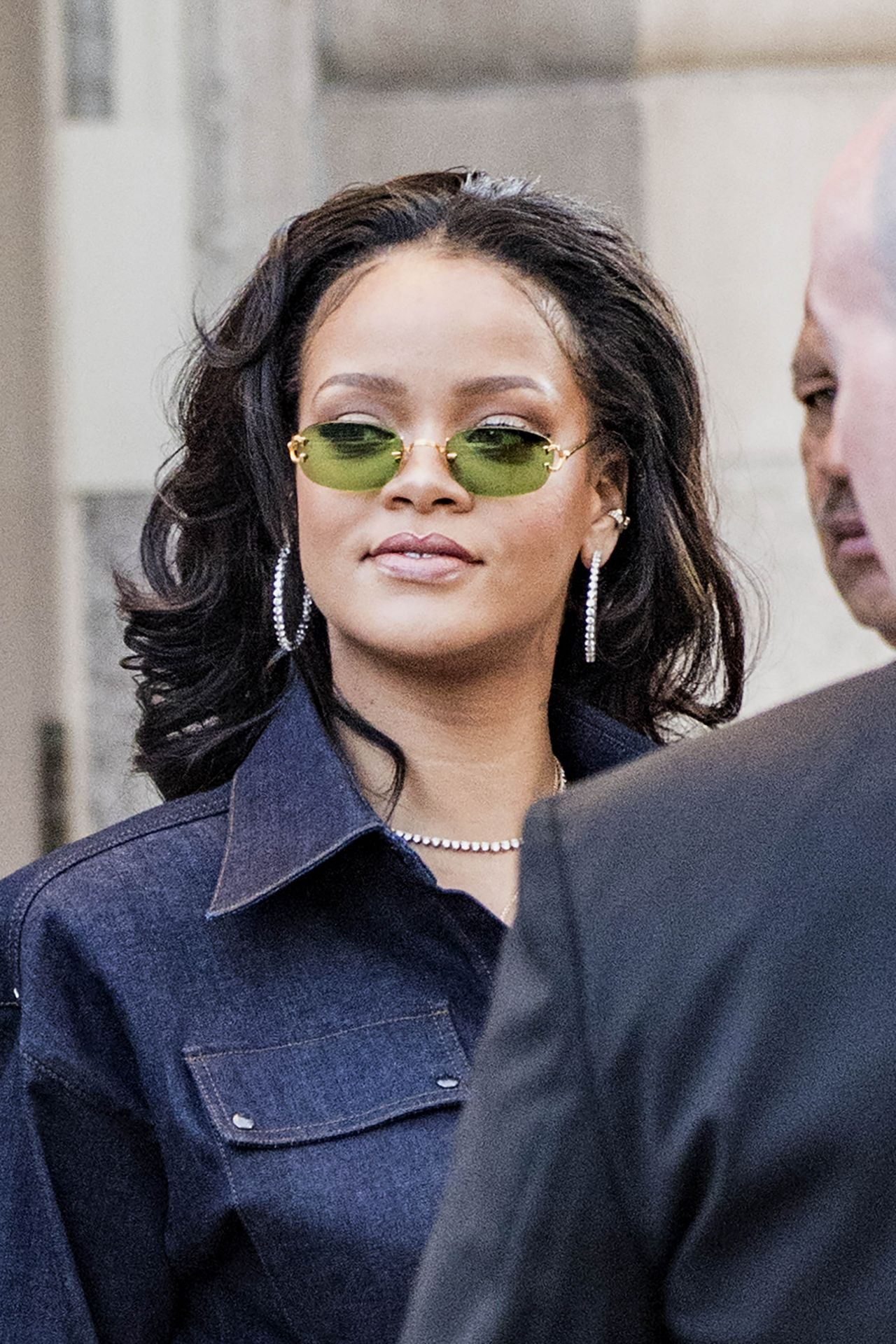 Rihanna Style - Departs Her Apartment in New York 10/12/2017