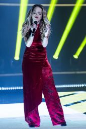 Rita Ora Appeared on The Jonathan Ross Show in London