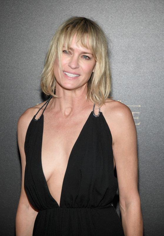 Robin Wright – Vogue x Irving Penn Party in Paris 10/01/2017