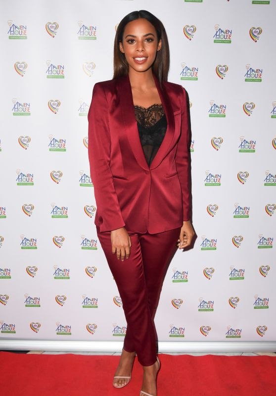 Rochelle Humes - Haven House Charity Ball in London 10/05/2017
