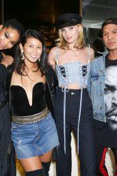 Romee Strijd, Chanel Iman & Elsa Hosk – Forward by Elyse Walker Dinner with Grlfrnd Denim, Paris 09/30/2017