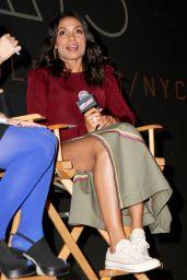 Rosario Dawson at Comic Con 2017 in NYC 10/05/2017