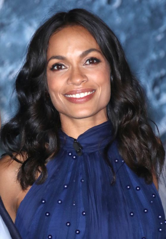 Rosario Dawson at New York Comic Con - Opening of Museum of Artemis: Life on the Moon 10/04/2017