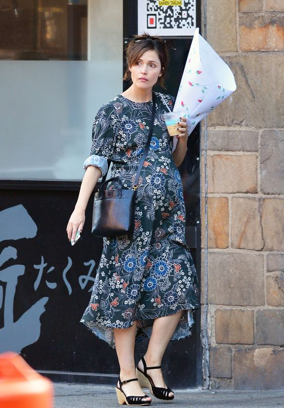 Rose Byrne - Out in New York City 10/22/2017