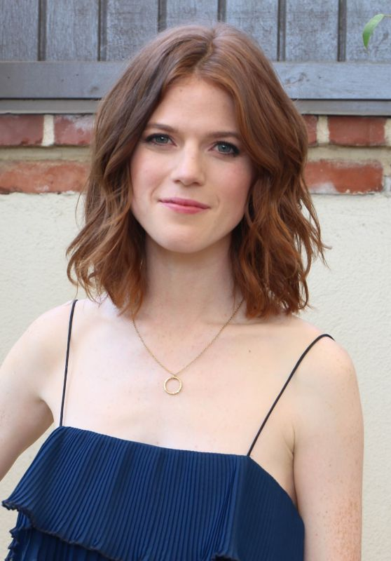"Rose Leslie - ""The Good Fight"" Press Conference in West Hollywood 10/12/2017"