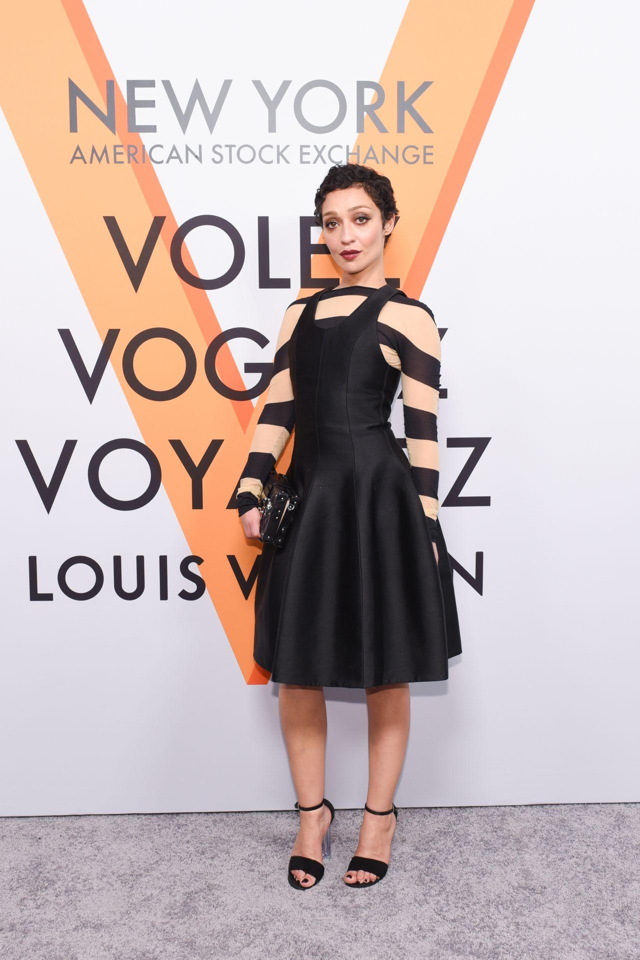 Ruth Negga – Volez, Voguez, Voyagez: Louis Vuitton Exhibition Opening in NYC