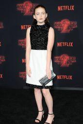 """Sadie Sink - """"Stranger Things"""" Season 2 Premiere in Los Angeles"""
