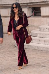 Salma Hayek – Stella McCartney Fashion Show, PFW in Paris 10/02/2017