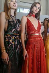 Samantha Gradoville Walks Elie Saab Fashion Show, PFW in Paris 09/30/2017