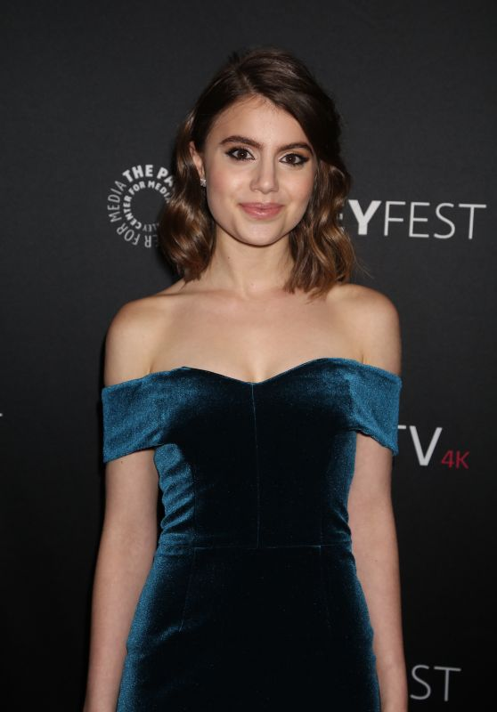 "Sami Gayle - ""Blue Bloods"" Presentation at PaleyFest in New York 10/16/2017"
