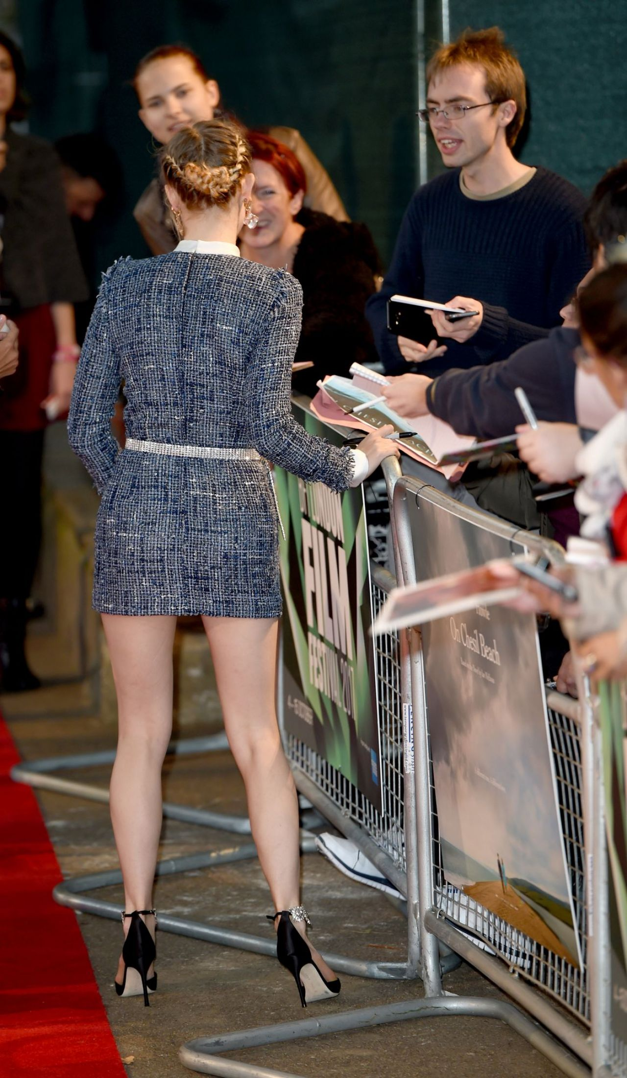 Saoirse Ronan Quot On Chesil Beach Quot Premiere At Bfi London