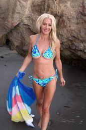 Sara Barrett in a Bikini at El Matador Beach in Malibu 10/16/2017
