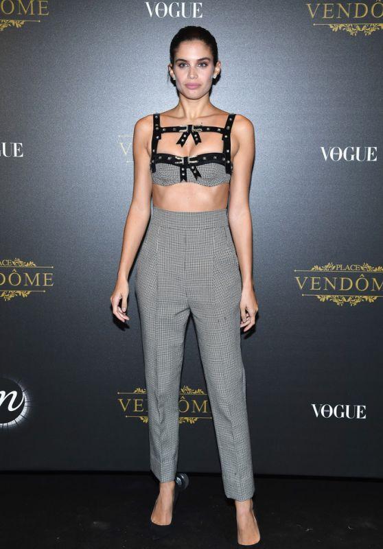 Sara Sampaio – Vogue Party at PFW in Paris 10/01/2017
