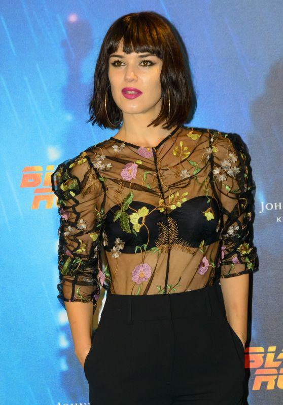 "Sara Vega - ""Blade Runner 2049"" Premiere in Madrid 10/05/2017"