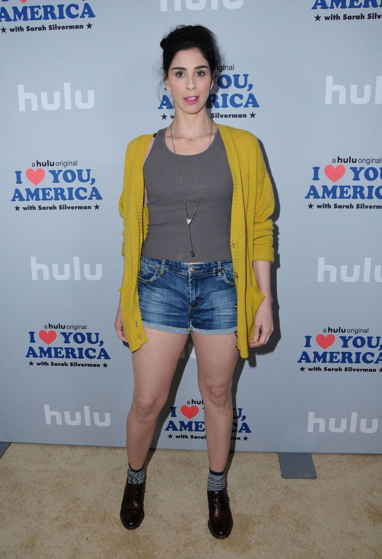 """Sarah Silverman - """"I Love You, America"""" with Sarah Silverman Premiere in Los Angeles"""