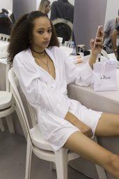 Selena Forrest – Christian Dior Fashion Show in Paris 09/26/2017
