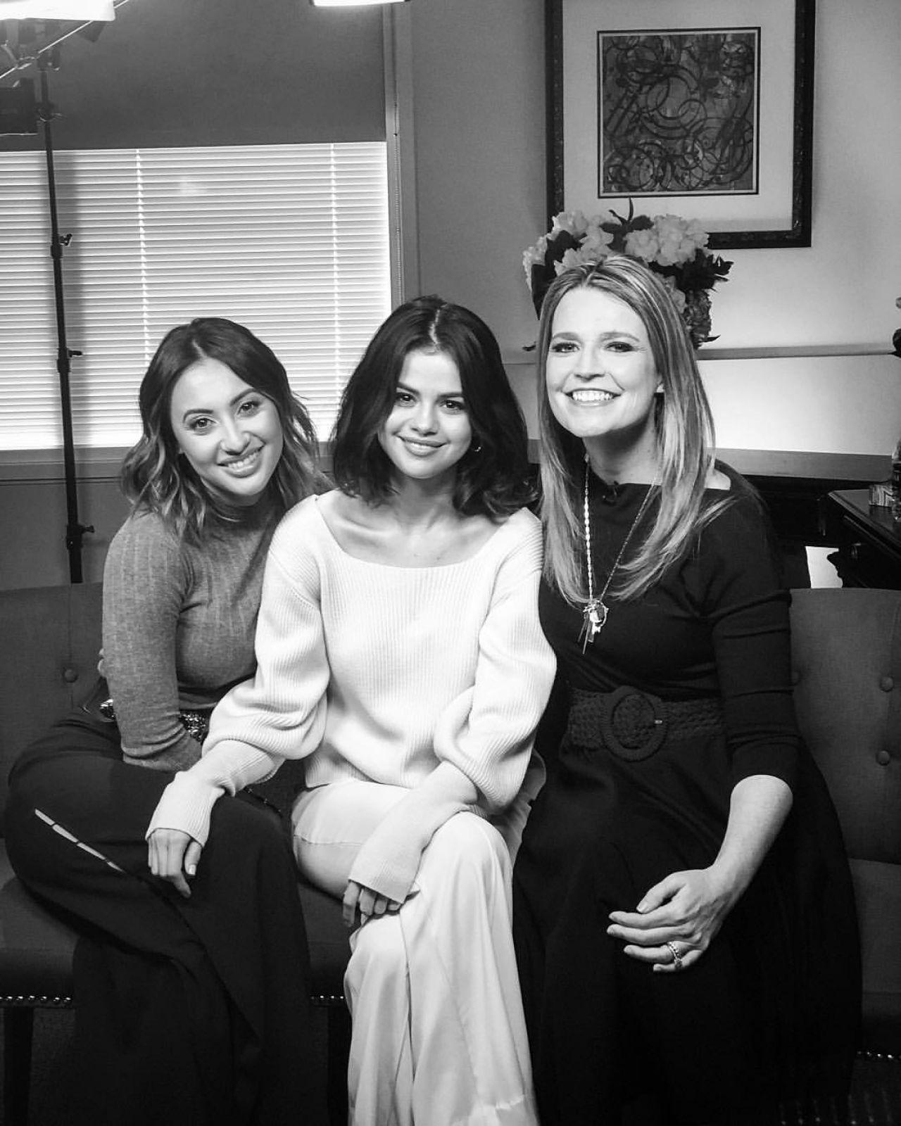 Selena Gomez & Francia Raisa - The Today Show 10/27/2017