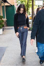 Selena Gomez  is Looking All Stylish - New York City 10/03/2017