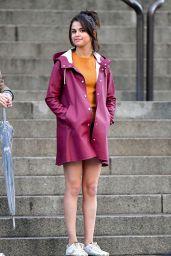 Selena Gomez - Woody Allen Film Set in NYC 10/04/2017